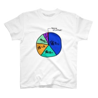 朝起きた時 T-shirts