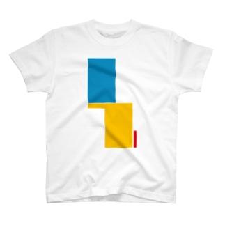 青黄赤 T-shirts