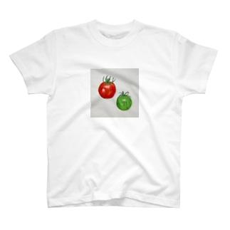 野菜のやさしさ  ぷちトマト🍅 T-shirts