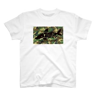 TANKPET CAMO1 T-shirts