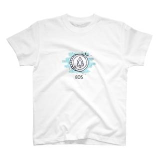 仮想通貨 EOS  [B] Tシャツ