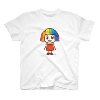 7716T - ナナちゃんTシャツ(全身) T-shirts