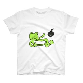 かえるちゃんおたまちゃん T-shirts