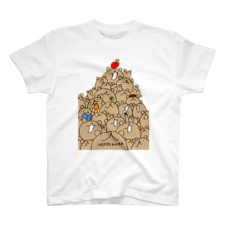 ウゲロくま山盛り T-shirts
