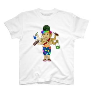 あしゅらsummer T-shirts