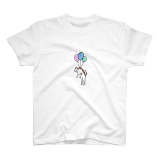 フーセン(ネコ) T-shirts