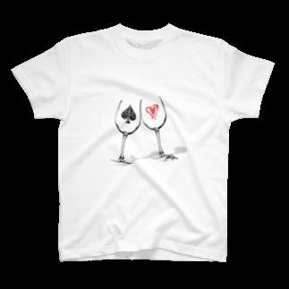FalseKnotのユキヒロカタヤマ T-shirts