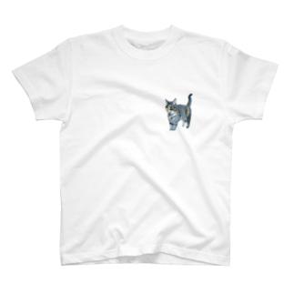ウチの猫 T-shirts