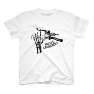 Missile Launchers(Black) T-shirts