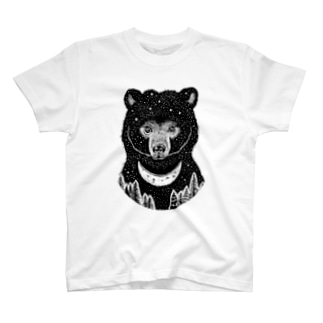 Asiatic black bear T-shirts