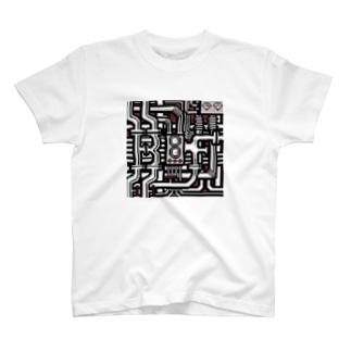 BF配管 シルバー T-shirts