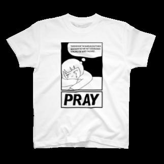 POTAGEのAgirlZ_P T-shirts
