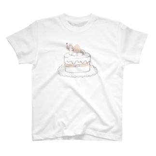 ケーキとうさぎ T-Shirt