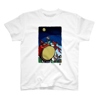 「エイサー」琉球デジタル版画Tシャツ TY0066D T-shirts