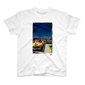 「コザ 60's」琉球デジタル版画Tシャツ TY0072D T-shirts