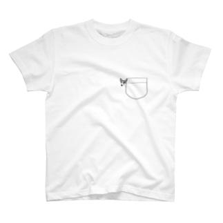 ひょっこりイタグレさくらちゃん T-shirts
