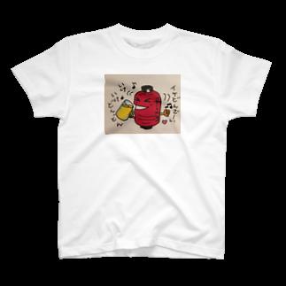 はるのみせの呑兵衛な赤提灯 T-shirts