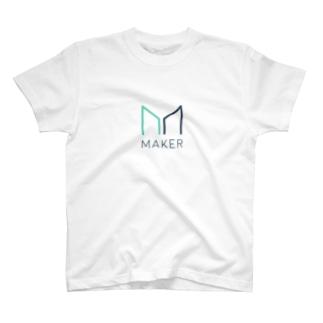 仮想通貨 Maker Tシャツ