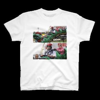 taikissのジェットコースターに乗る T-shirts