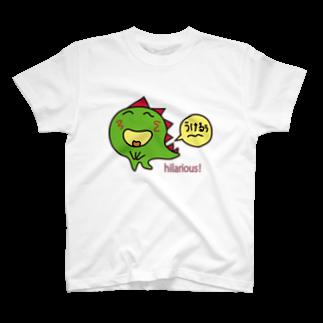 IWAOTHIのお店のちっちゃな怪獣ギャのっぴー T-shirts