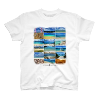 「沖縄のビーチ No.1」写真家:弘琉の世界 MTSB1001 T-shirts
