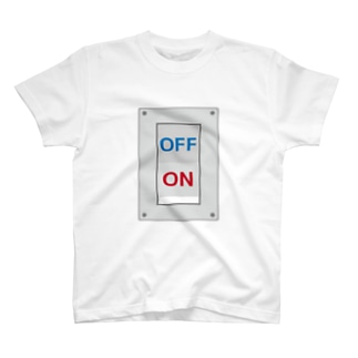 スイッチオフ T-shirts