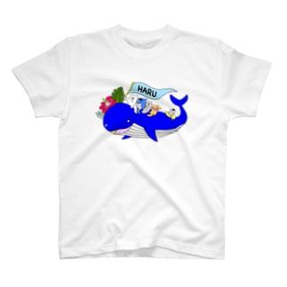 くじらグッズ① T-shirts