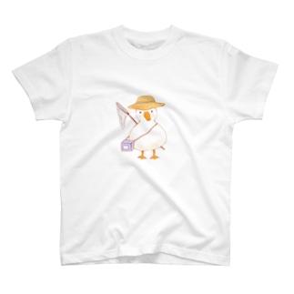 虫とりあひるしょうねん T-shirts