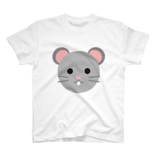 干支丸-子-animal up-アニマルアップ- T-shirts