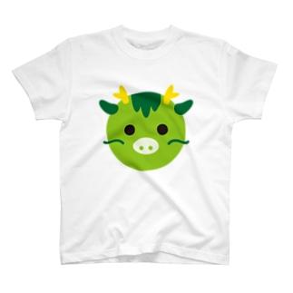 干支丸-辰-animal up-アニマルアップ-  T-shirts