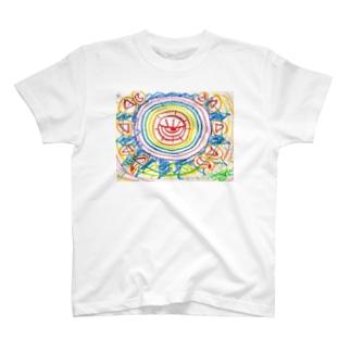 希望燦々図 T-shirts