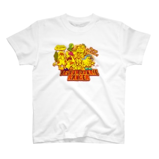 YELLOW JUNKIE ヒーロー気取り T-shirts