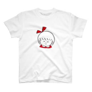 りぼんちゃん(あかいろ) T-shirts