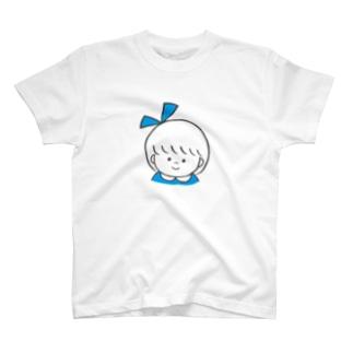 りぼんちゃん(みずいろ) T-shirts