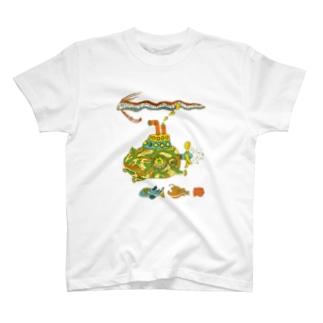 モッチ潜水艦 T-shirts