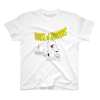 オドロオドロの幽霊屋敷 T-shirts