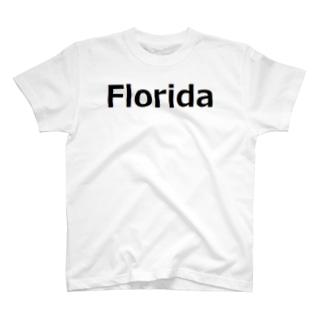Florida フロリダ T-shirts