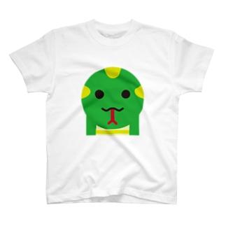 干支丸-巳-animal up-アニマルアップ- T-shirts