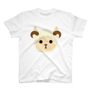 干支丸-未-animal up-アニマルアップ- T-shirts