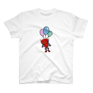 フーセン(ロボット) T-shirts
