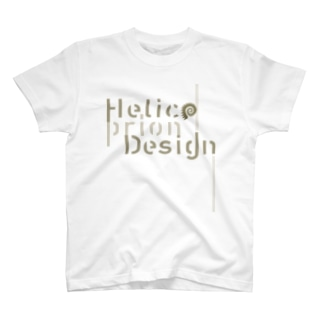 HelicoprionDesignロゴタイプ T-shirts