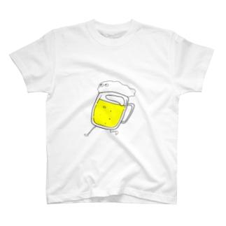 走るびーるくん T-shirts