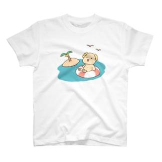 昼の海 T-shirts