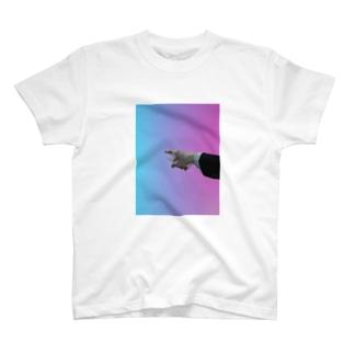 めちゃ指さされてる T-shirts