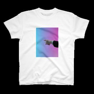 ウララ園長のめちゃ指さされてる T-shirts