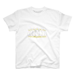押し寄せる あひる T-shirts