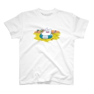 海の日のハグキマル Tシャツ