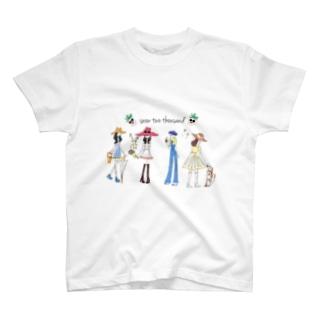 HAPPY GIRLS T-shirts