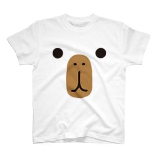 カピバラ-animal up-アニマルアップ- T-shirts