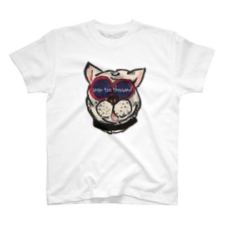 サングラドッグ L T-shirts